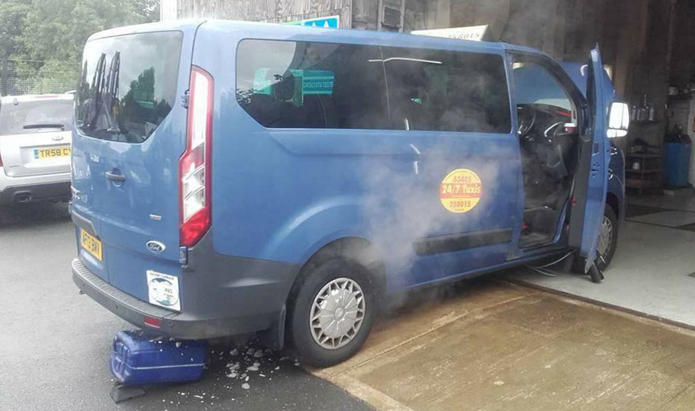 DPF Cleaning Ford Transit