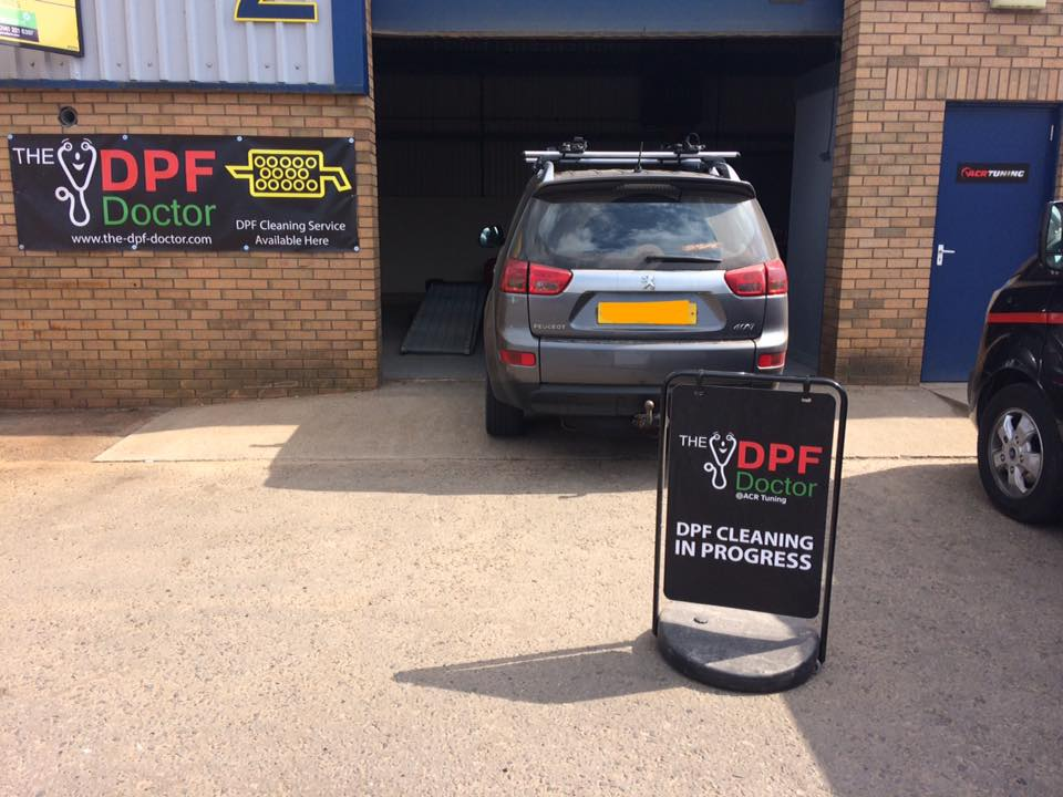 peugeot 4007 dpf problem fixed! - dpf cleaning, fault finding