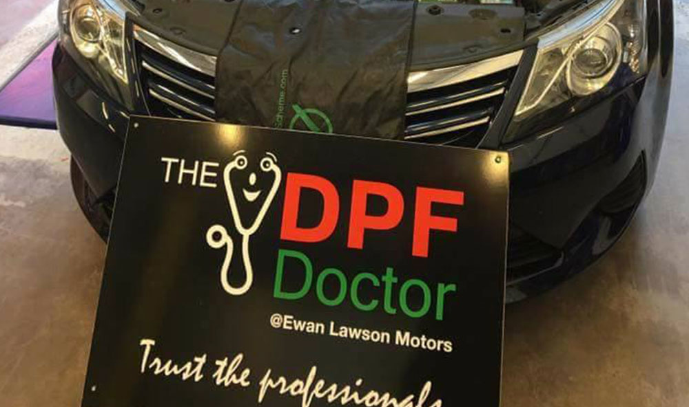 Toyota Avensis DPF problem fixed in Falkirk