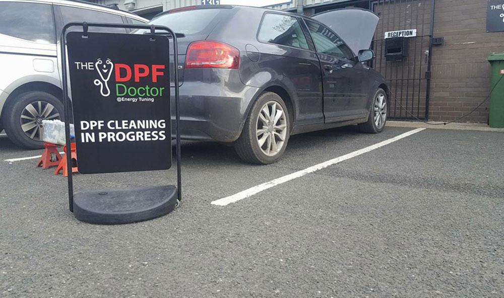 Audi A3 1.6TDI DPF problems P2002 and P2458 fixed in Ashington