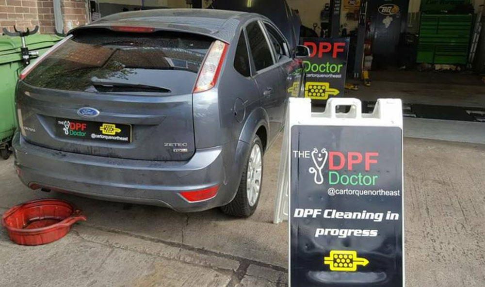 Ford Focus DPF problem P2002 fixed in Newcastle -