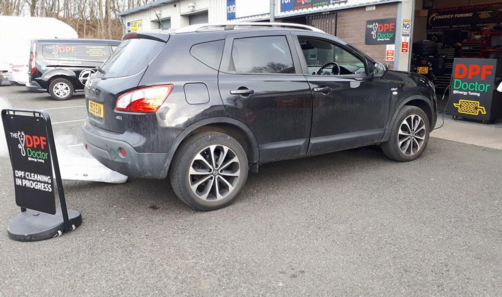 Nissan Qashqai non runner DPF problem fixed in Ashington…