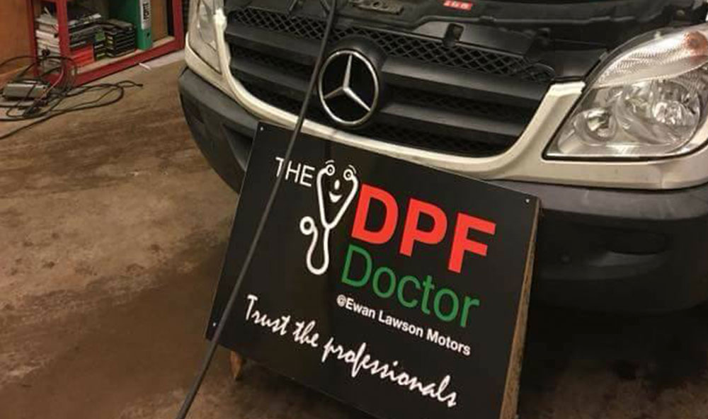DPF Cleaning Falkirk
