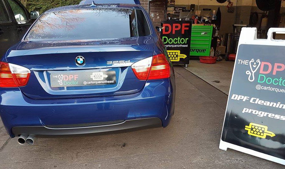 BMW DPF problem fixed in Newcastle.