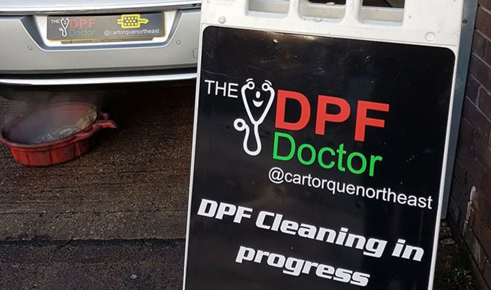 DPF cleaning in Newcastle… FIXED