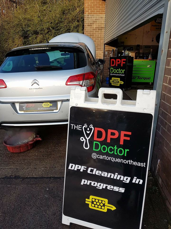 DPF Cleaning Newcastle on a Citroen