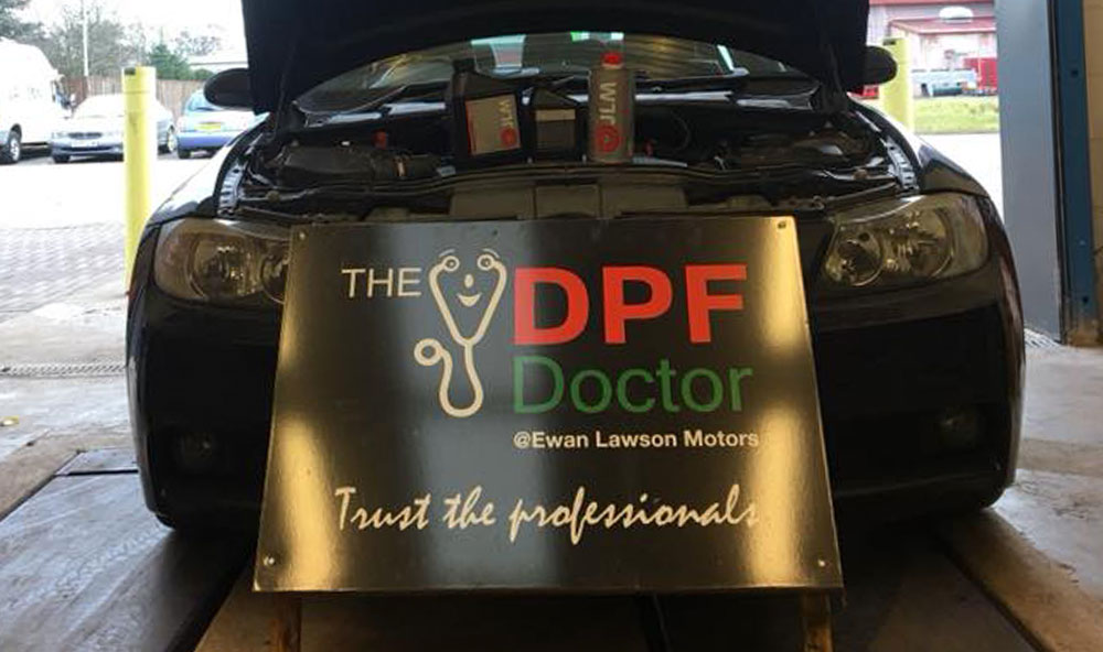 DPF Cleaning in Falkirk
