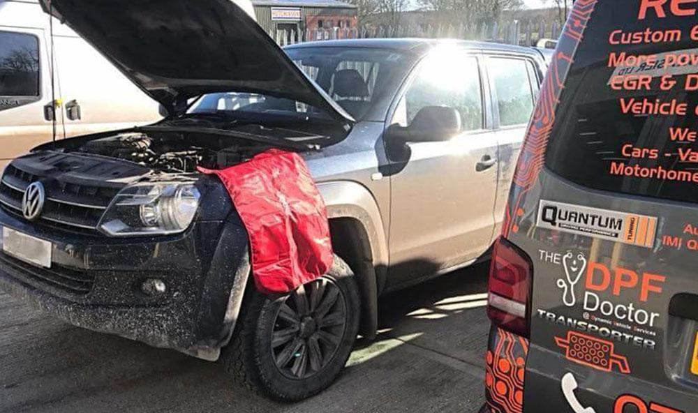 DPF Clean VW Amarok Kent