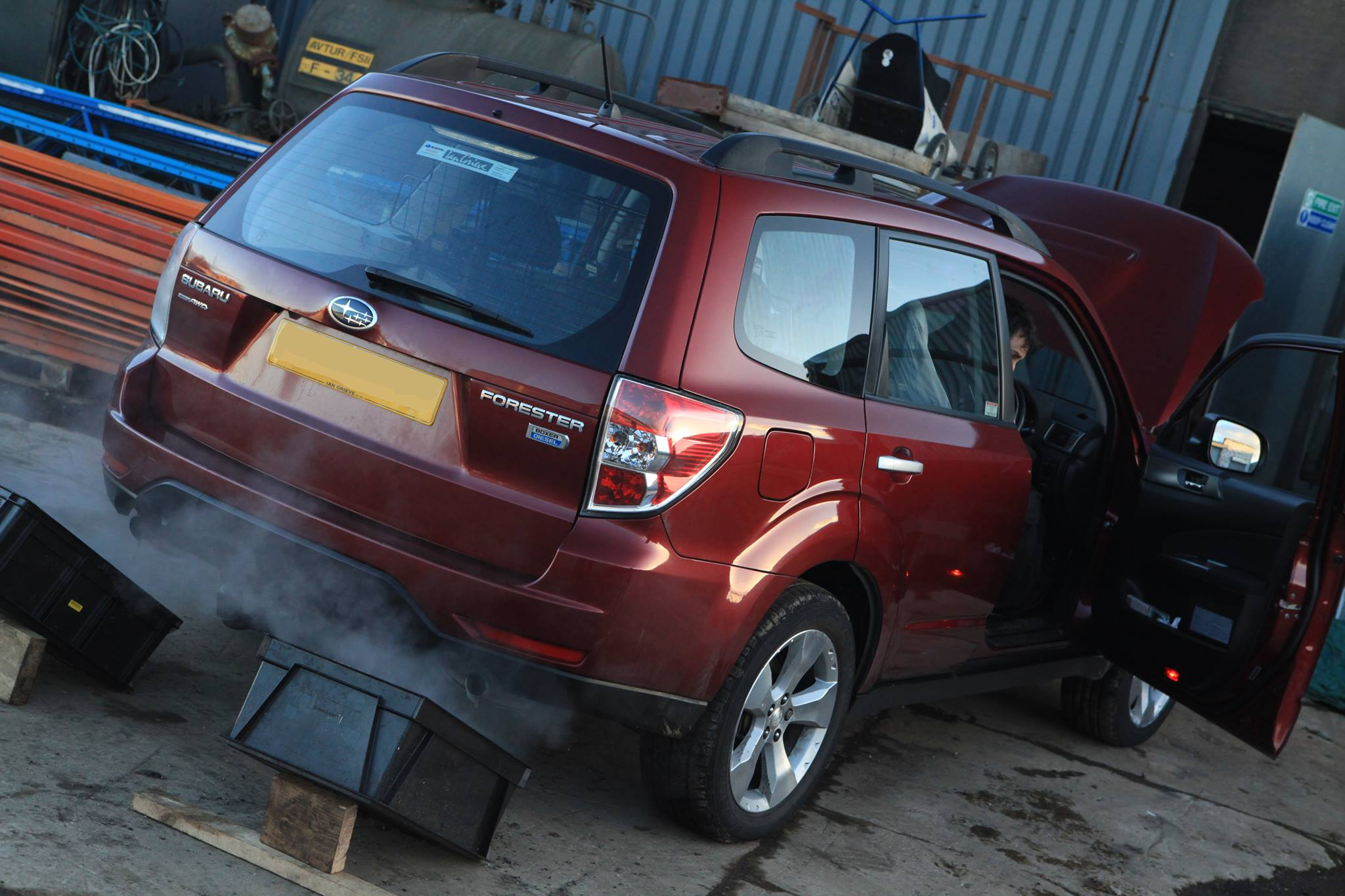 DPF Cleaning in Fife