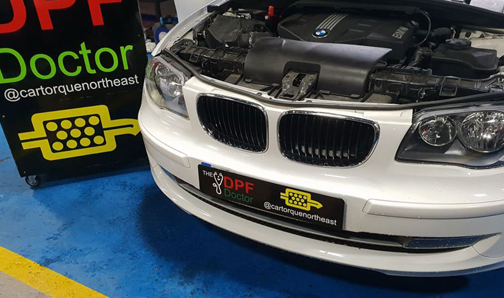 BMW with Blocked DPF – Cleaned in Newcastle