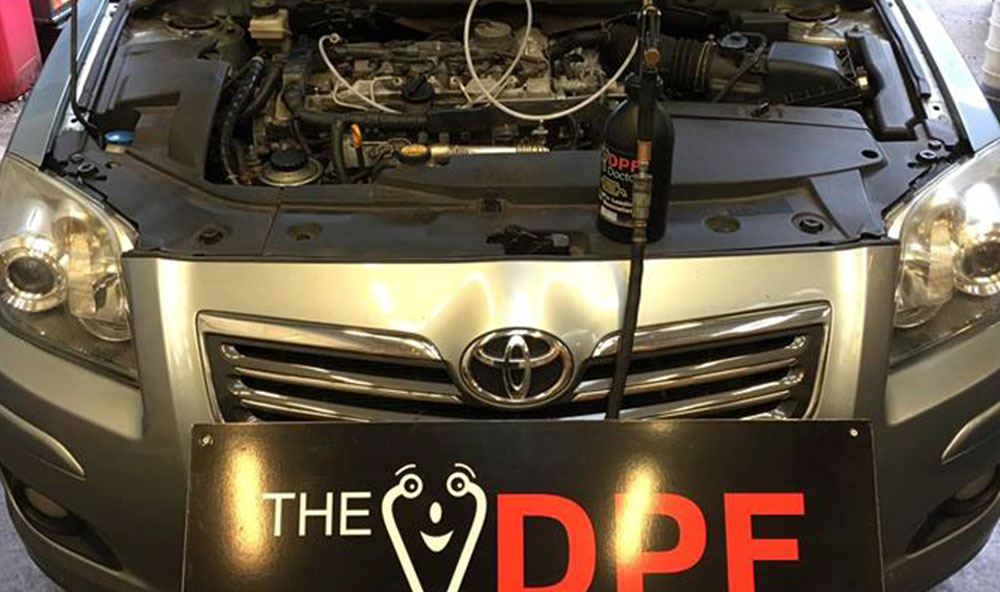 Toyota Avensis DPF Cleaned and Fixed in Falkirk