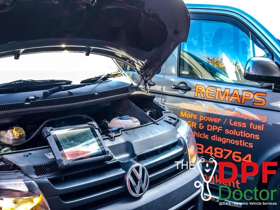 Volkswagen T5 DPF Cleaning in Kent