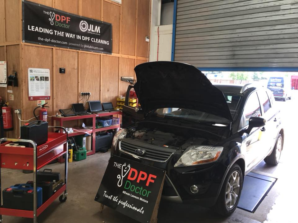 DPF Repair on a Ford Kuga in Falkirk