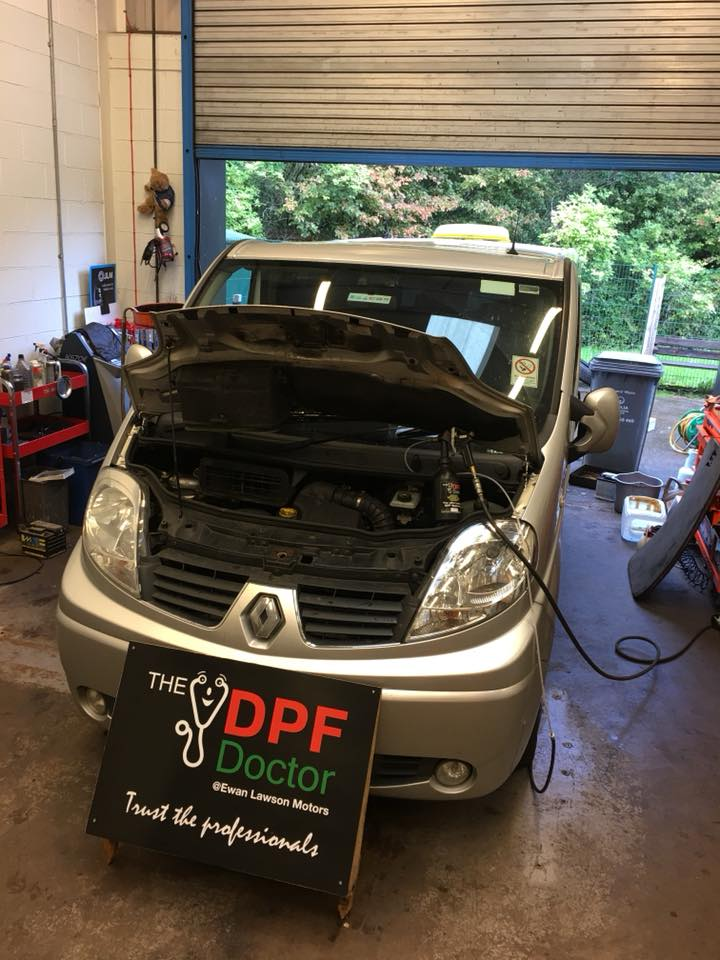 Renault Traffic DPF Repaired in Falkirk, Stirlingshire