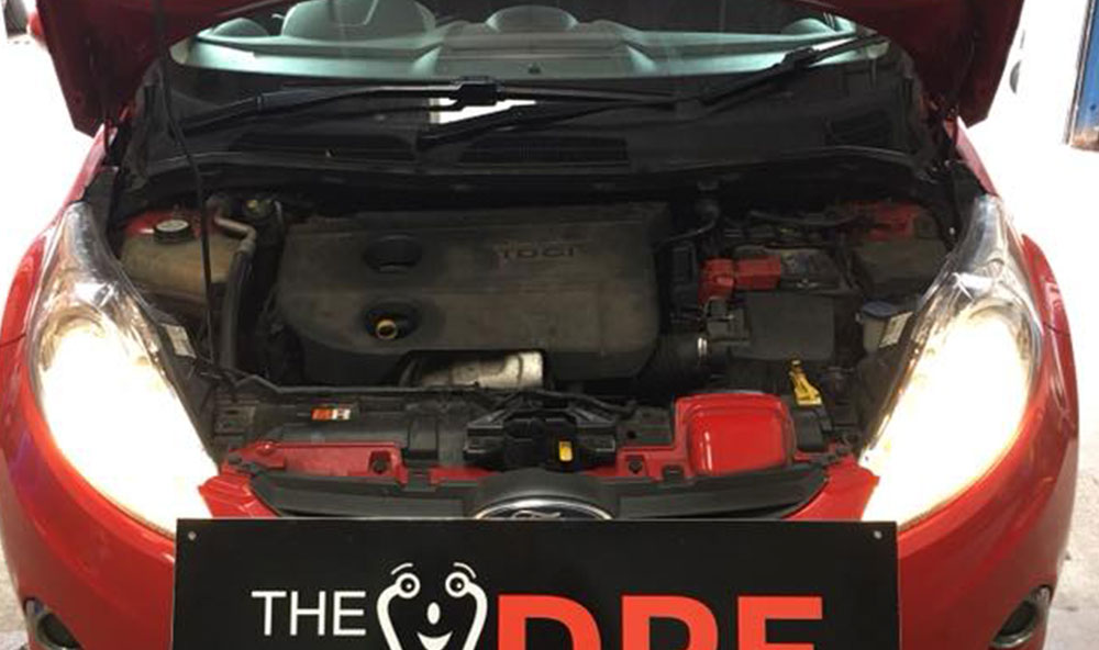 Ford Fiesta Fault Codes and Blocked DPF Cleaned & Fixed