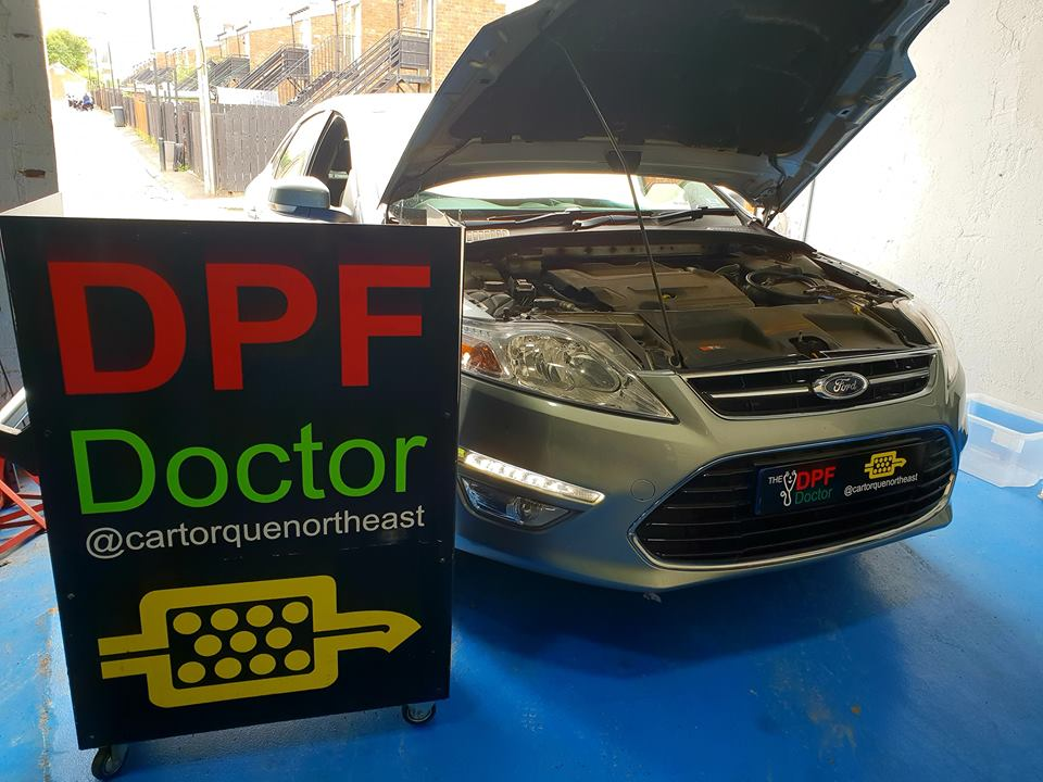 Ford Mondeo 2.0 TDCI with DPF Fault Fixed and Cleaned in Newcastle
