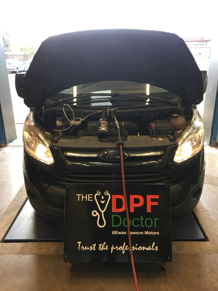 Ford Transit DPF Cleaning Falkirk