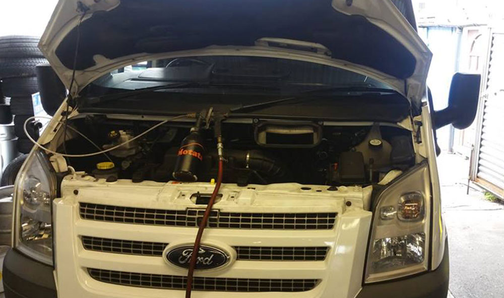 Ford Transit DPF Cleaned in Havant