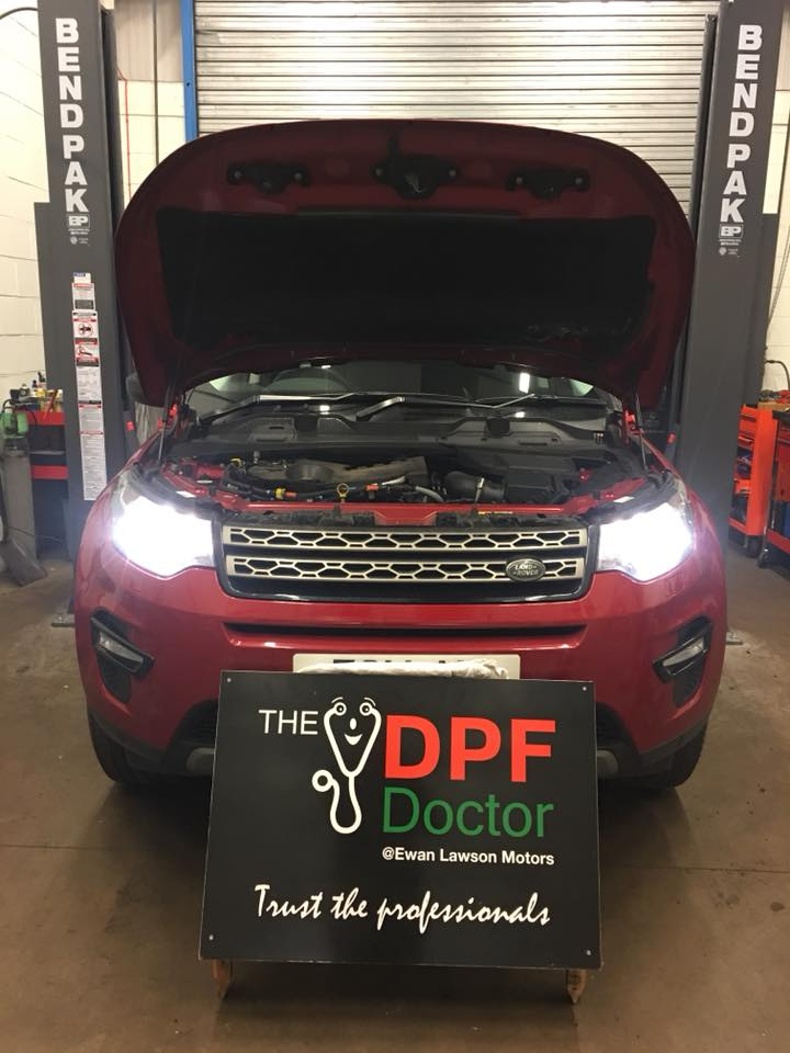 2016 Land Rover Discovery DPF Cleaned