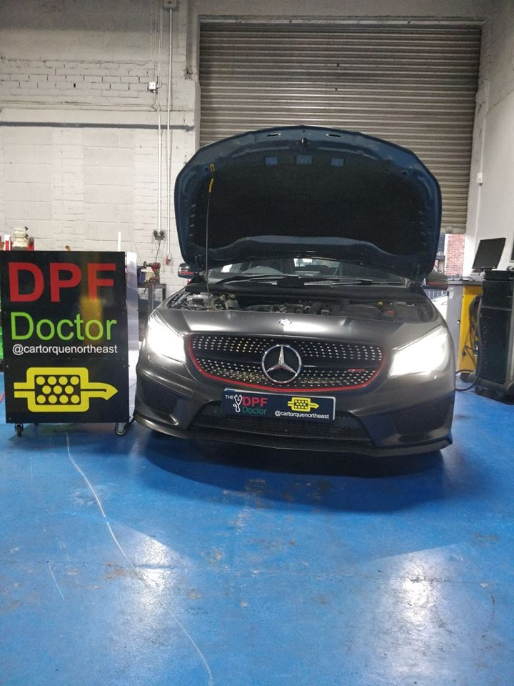 Mercedes DPF Cleaned in Newcastle