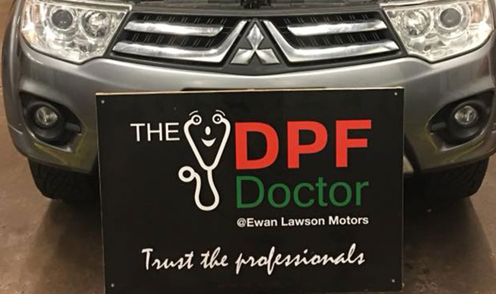 mitsubishi DPF Cleaning Falkirk
