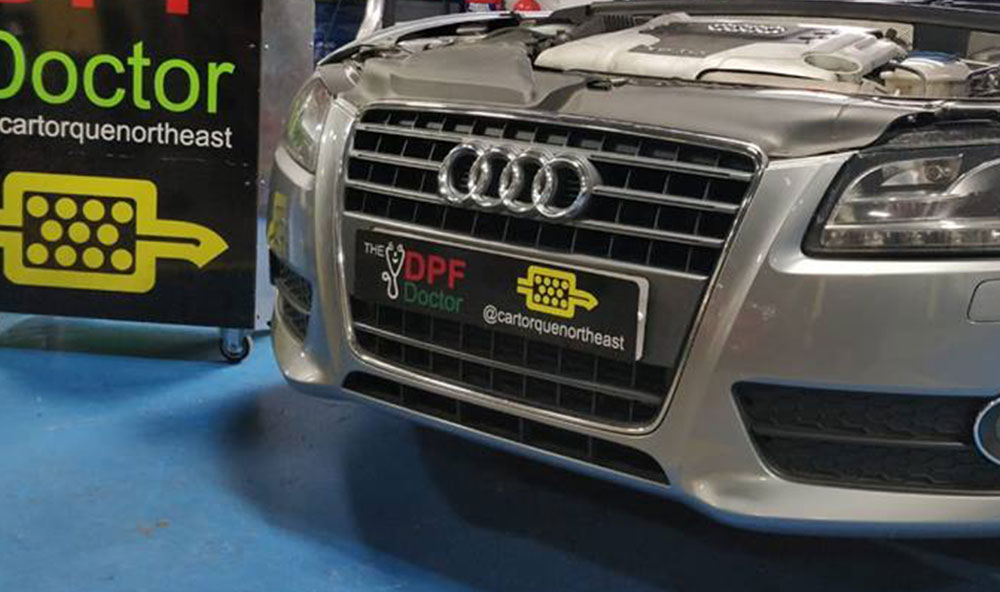 Audi DPF Repair and Clean in Newcastle