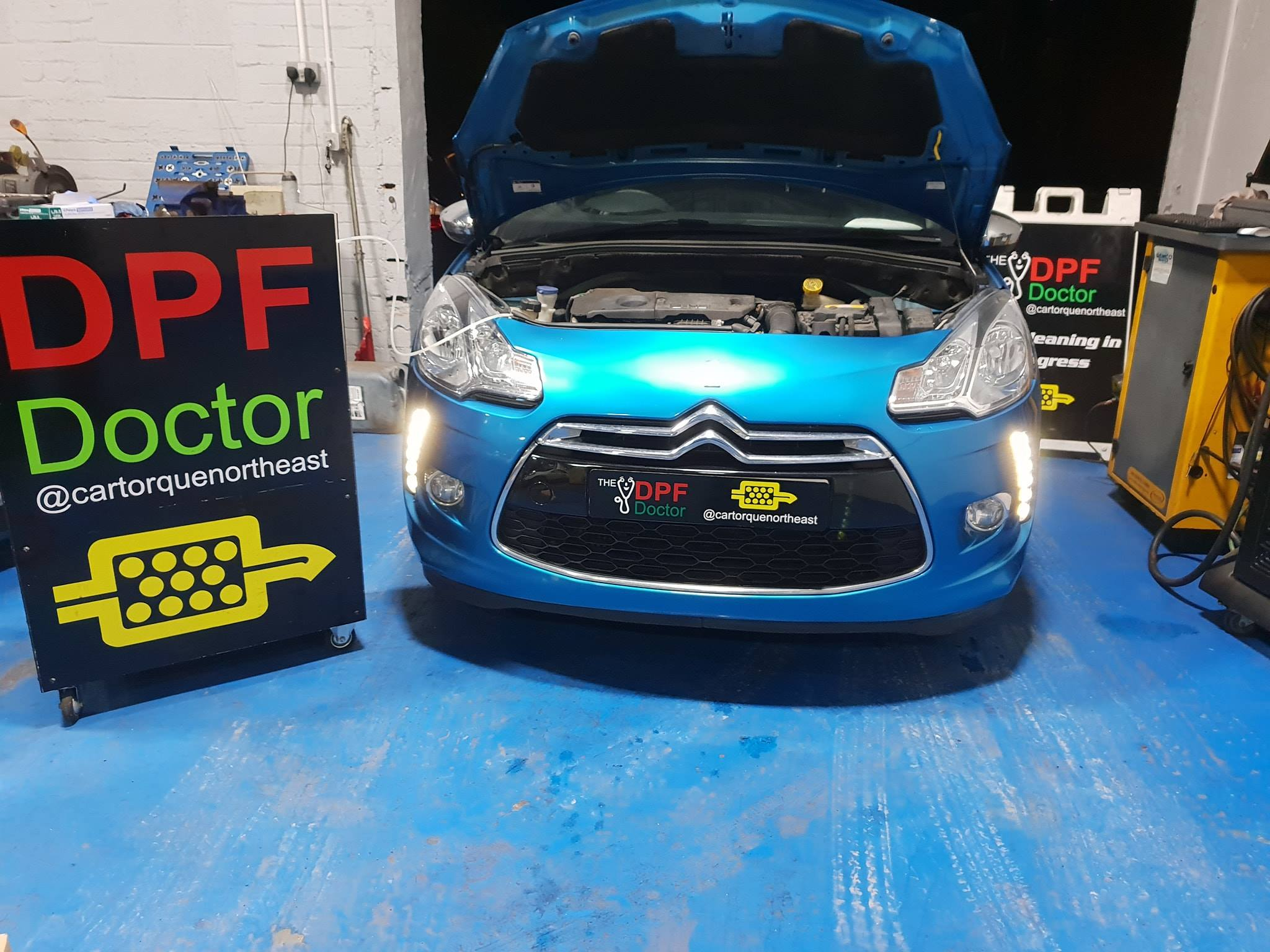 Citroen DPF Cleaning Newcastle