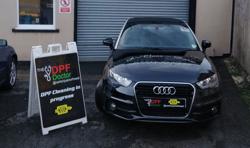 DPF Cleaning Newcastle Audi