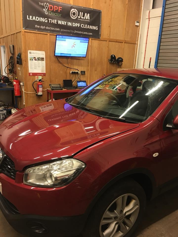 DPF Clean Nissan Qashqai Falkirk