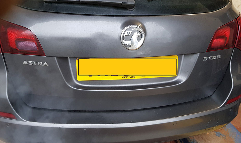 Vauxhall Astra DPF Repaired and Cleaned in Catterick